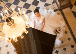 Shooting photo d'une jeune mariée au Château de la Rairie à Pont Saint Martin (44) par Aurélie BRUNET