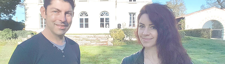 Mr & Mme DUBLET vous accueillent au Château de la Rairie