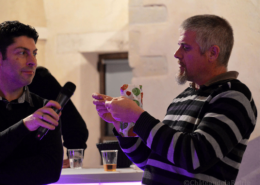 13 Novembre 2017 : Le Château de la Rairie a eu le plaisir de recevoir le groupe d'entrepreneurs BNI, animations de cocktail