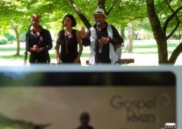 Chant gospel pour mariage en extérieur au Château de la Rairie à Pont Saint Martin