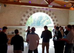 Séminaire et dégustation de vins au chateau de la Rairie près de Nantes