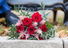 Bouquet de la Mariée réalisé par Flower 7, photographe: Caroline Bouchez